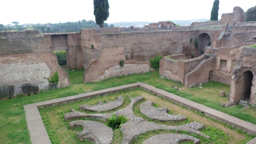 Courtyard of the Domus Augustana