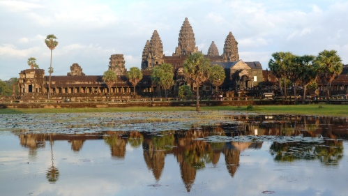 Angkor Wat during day